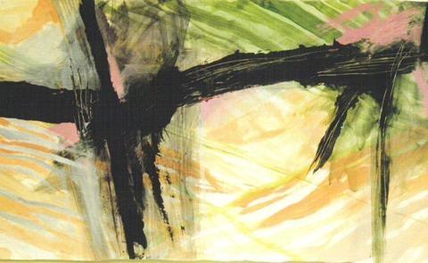 Spring I, 1997, Acrylic