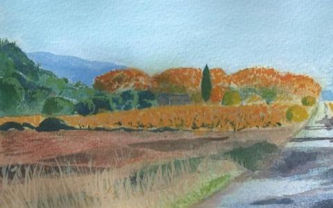 Provence marraskuussa 1, 2015
