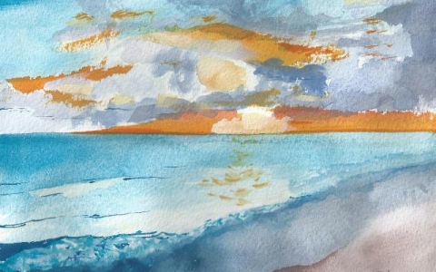 In Canaries 2015, Watercolor