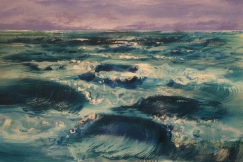 10 Meriaiheinen maalaus