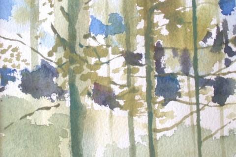 Kevät 2001, Akvarelli