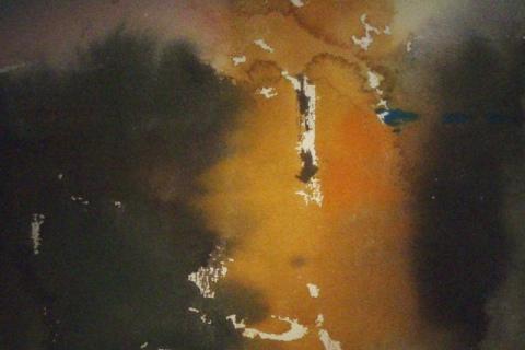 Syksyllä 2010, Akvarelli