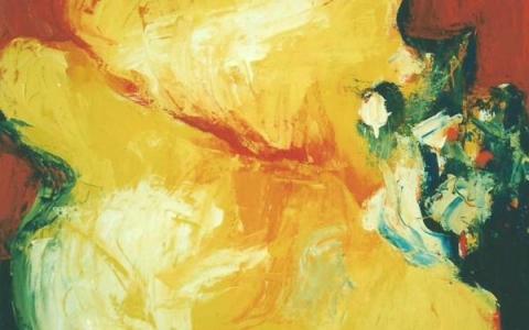 Simpukka III, 1998, öljy