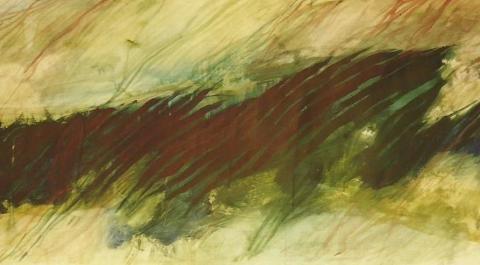 Spring II, 1997, Acrylic
