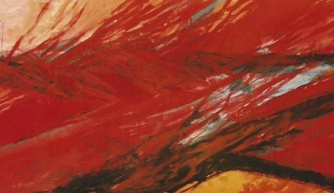 Spring III, 1997, Acrylic