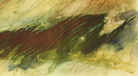 Kevät II, 1997, Akryyli