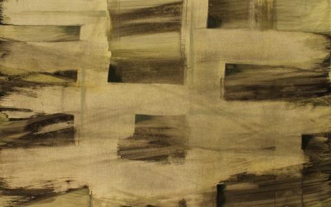 Tuulien suunnat, 2016, akryyli paperille, 91 x 106cm