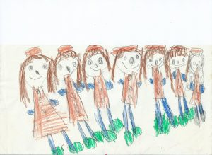 Lapsuudenkuva: Tytöt, 16.4.1966